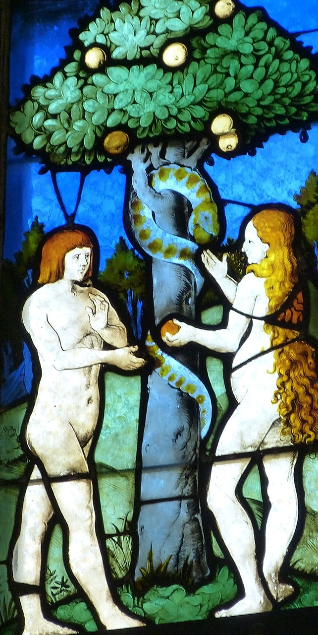 Eve, Adam, and the Snake